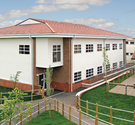 The King's School's new 15 room modular building