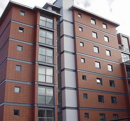 Telling provided ArGeTon® terracotta rainscreens