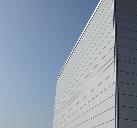 Alucovering profiles can be designed to suit individual architectural requirements