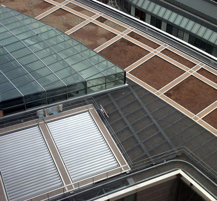 EMTEC supplied roof louvres, gratings and decking