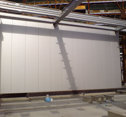 Composite metal cladding panels