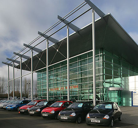 Holiways Ford dealership, Newton Aycliffe