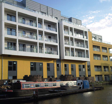 Fire Design Solutions lends it's fire consultancy experience to The Lockhouse apartments in Camden