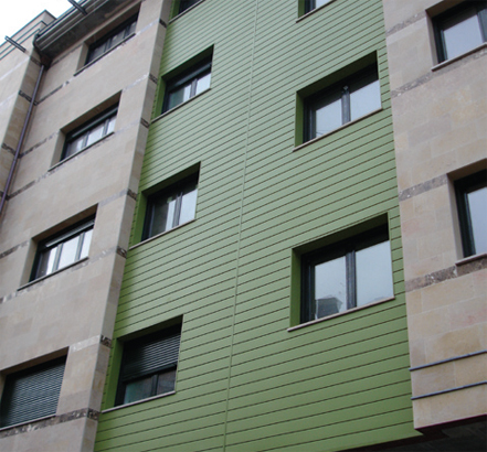 Endura cladding is available in 51 colours