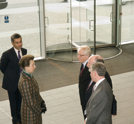 The North Glasgow College Campus was opened recently by HRH The Princess Royal