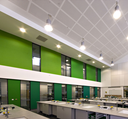 Nailsea School laboratory