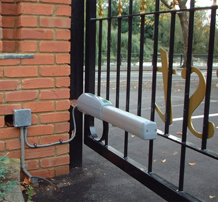 Atlas designed and installed custom-made gates