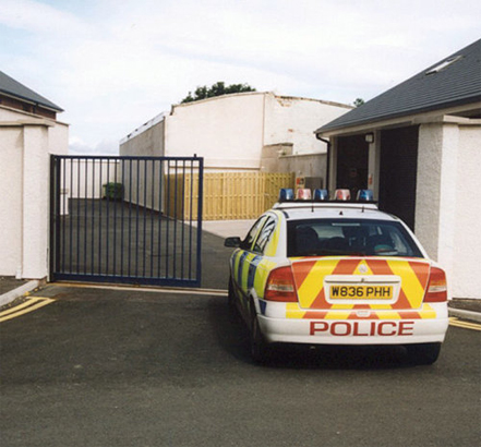 The Atlas gates have improved security at Cumbria Police Station