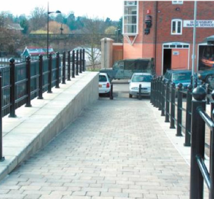 PD Edenhall supplied walling blocks of various sizes and designs
