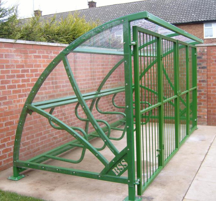 Bailey Streetscene designed, manufactured and installed secure covered cycle storage for 36 cycles