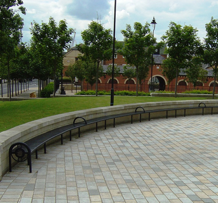 Radius seating, Headland Town Square
