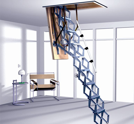 Supreme stairway with electrical operation