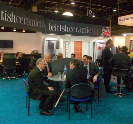 British Ceramic Tile was the first ever British tile manufacturer to exhibit at Cevisama