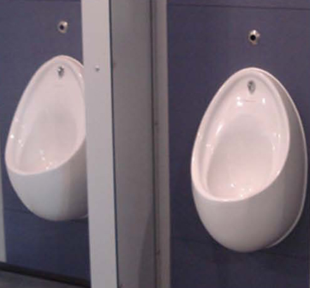 IPS Evolve ready-plumbed modules, used at St Paul's Academy for urinals