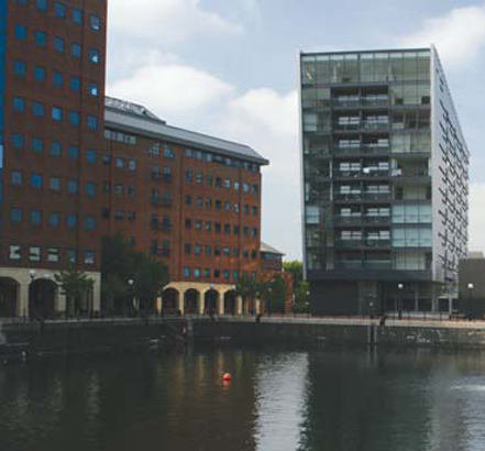 Erie Basin is located by Salford Quays in Manchester