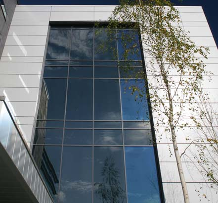 Sotech's Optima FC system featured panels constructed from Reynobond ACM