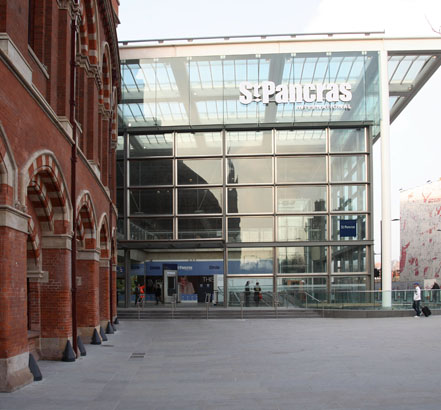 Yannedis were specified for the redevelopment of St Pancras