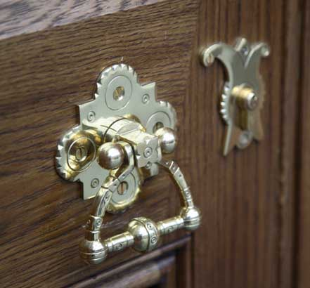 Yannedis copied the station's original architectural ironmongery
