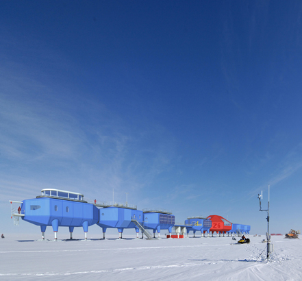 The prefabricated modular research station