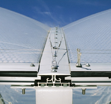 Novum's Air Filled Pillow (AFP) system made with ETFE