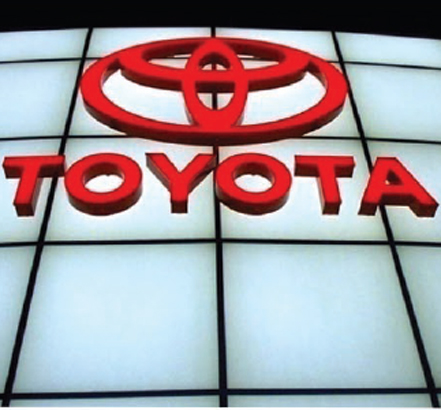 Toyota appointed Novum as a sole service to their American dealers