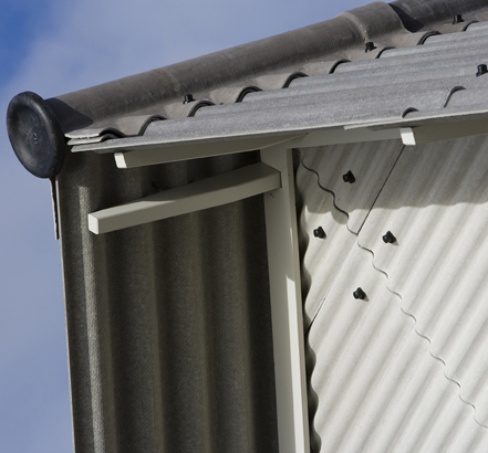 Marley is the only UK manufacturer of fibre-cement profiled sheeting