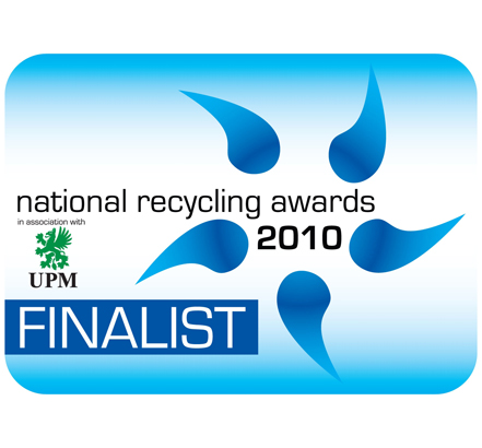 The Swish recycled PVC rainwater system has been short-listed in the National Recycling Awards 2010 Best Product category