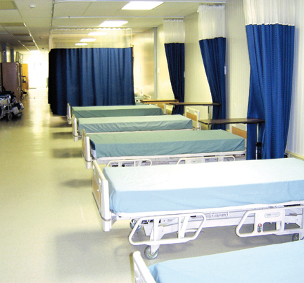 TouchClean<sup>®</sup>, hospital ward