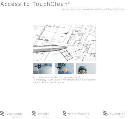TouchClean<sup>®</sup> brochure