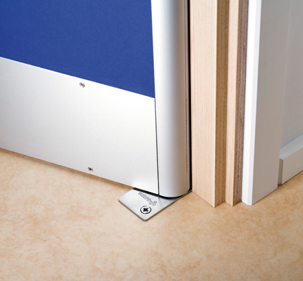 Safehinge ALU will last the life of the door, saving around £500 per door on replacement hinge covers