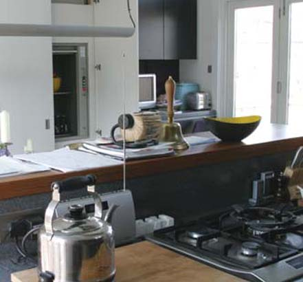 A Grand Designs finalist, 11 Spitalfields in London, makes use of a Stannah Microlift