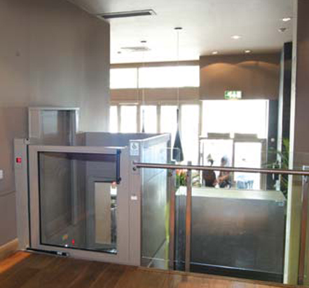 Platform lifts from Stannah, installed at Tonic in Nottingham