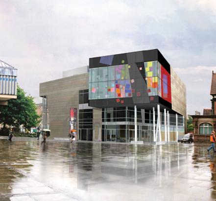 The Quad Building Derby City Centre