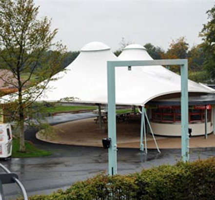 CTF-System, tensile fabric structure