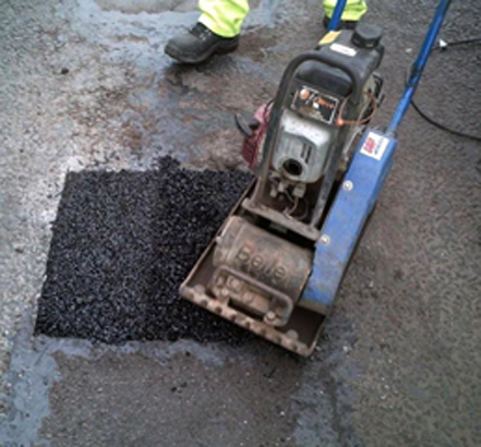 RonaRoad EcoPatch highway maintenance and pothole repair