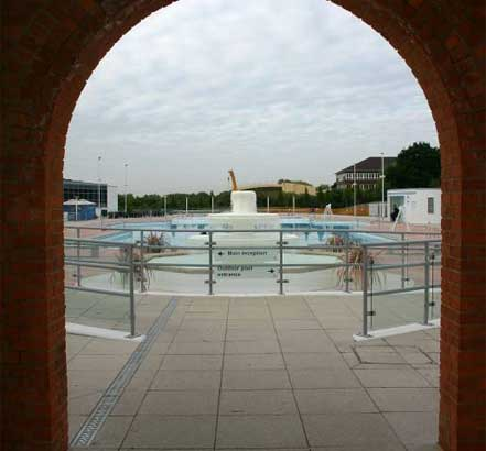 Structural remedial repairs at the north block of Uxbridge Lido