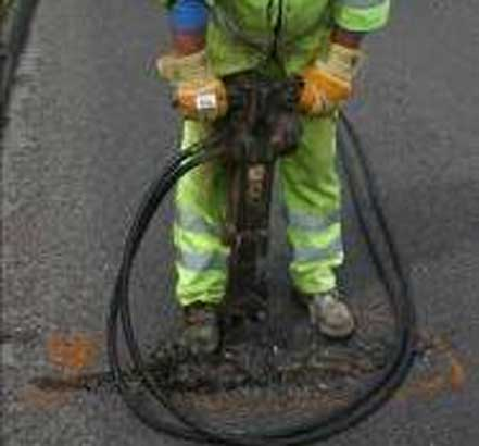 Permanent and therefore cost effective pothole repair from RonaRoad EcoPatch
