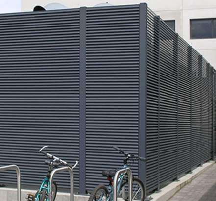 Talia<sup>®</sup>100 generator housing perfectly complements the overall architectural design