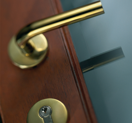 Interbrass - brass finish durable lever handle designs