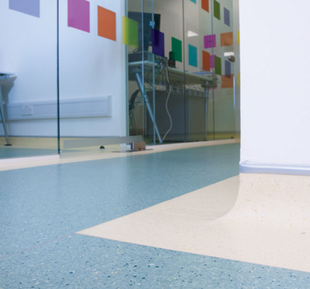 Polyflor Prestige PUR, Cancer Research UK