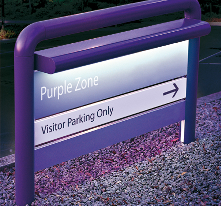 INFOPANEL a robust system which provides external directory signs with real presence
