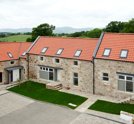 Pittencrief's debut development in Saline, Fife