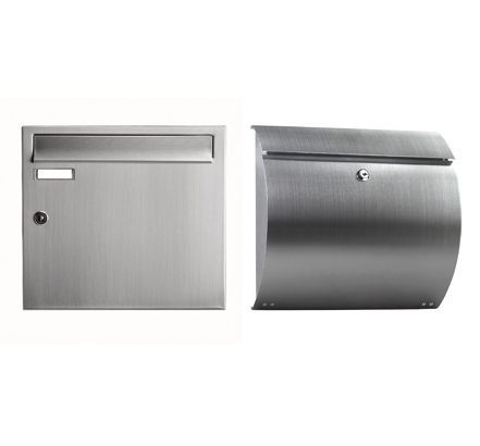 Intermail - individual mailboxes are available in a wide range of materials, sizes and finishes