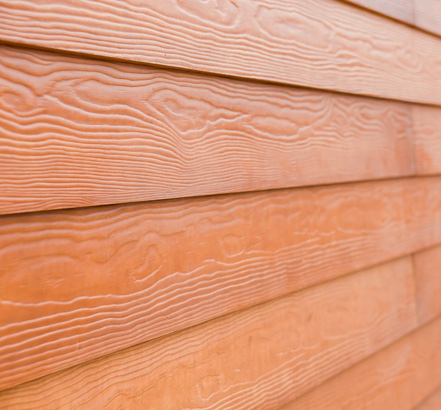 Cedral Weatherboard fibre-cement cladding