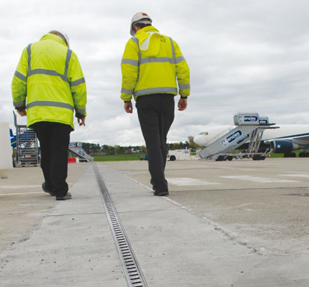 ACO Qmax 225 and 350 used on the upgrade to the existing west apron