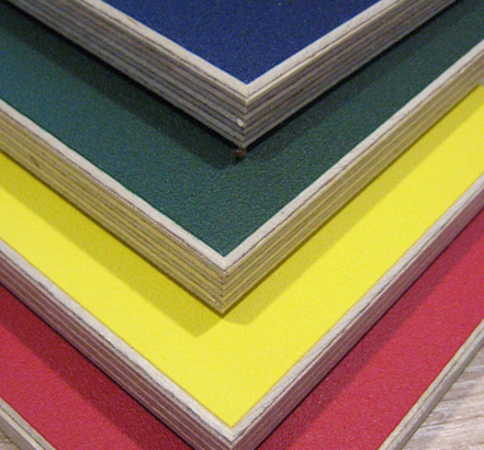 Multiwall birch plywood wall panels, polypropylene coated in a range of colours