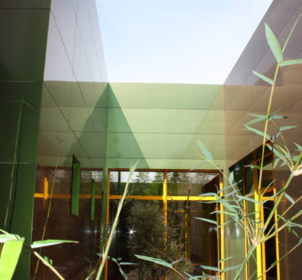 A natural effect with Reynobond® facade, Spa Yacine