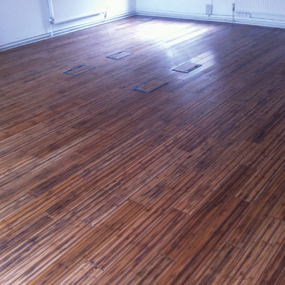 Antique Carbonised Bamboo Flooring B430 Bamboo