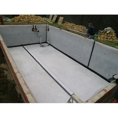 Combined Waterproofing Type C: Drained Protection
