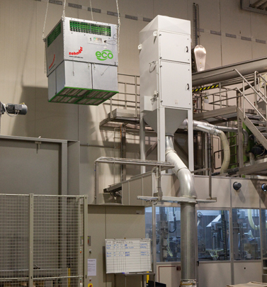 Zehnder Clean Air Solutions installed at potato processing company